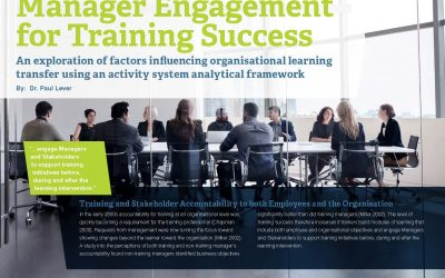 Whitepaper: Manager Engagement for Training Success