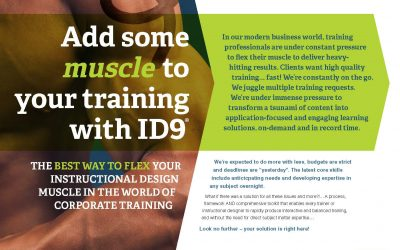 Whitepaper – Add some muscle with ID9